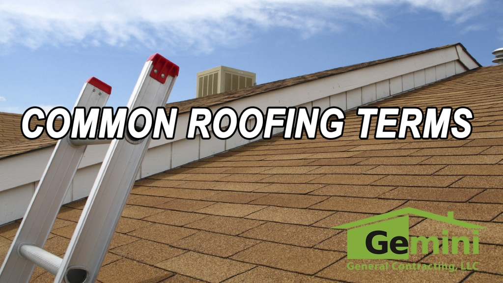 common roofing terms